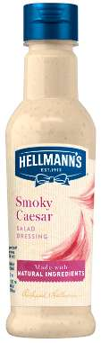 [Hellmann's Smoky Ceasar Dressing 210 ml]