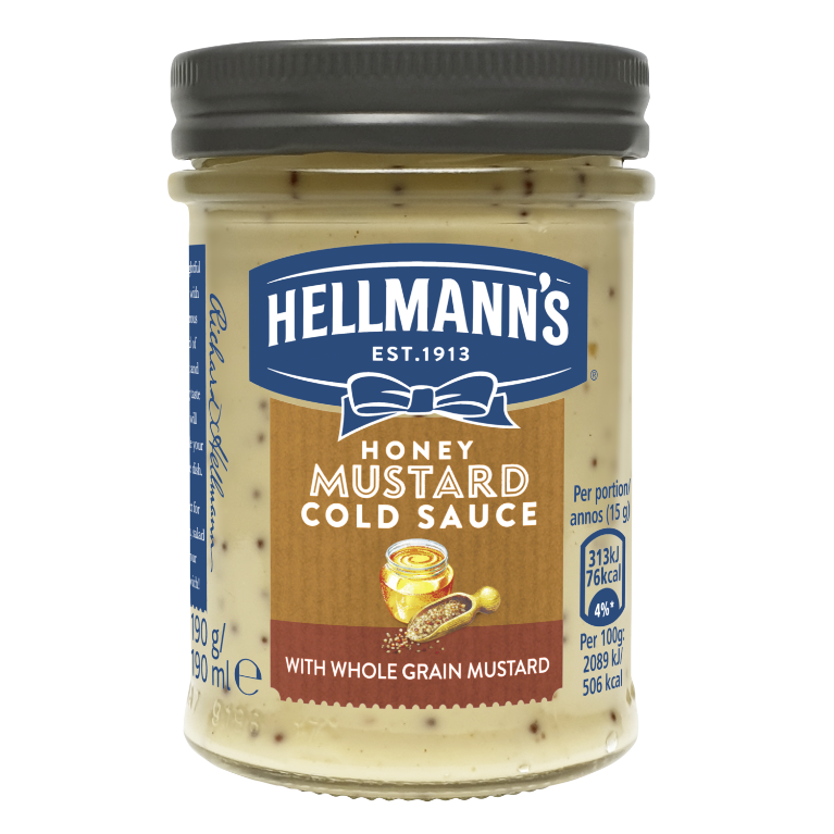 Hellmann's Honey Mustard Sauce 190 ml
